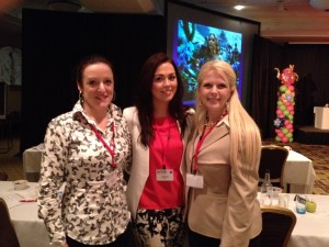 Our hygienists Eleanor and Lyndsey with Wendy Briggs