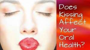 does kissing affect your oral health
